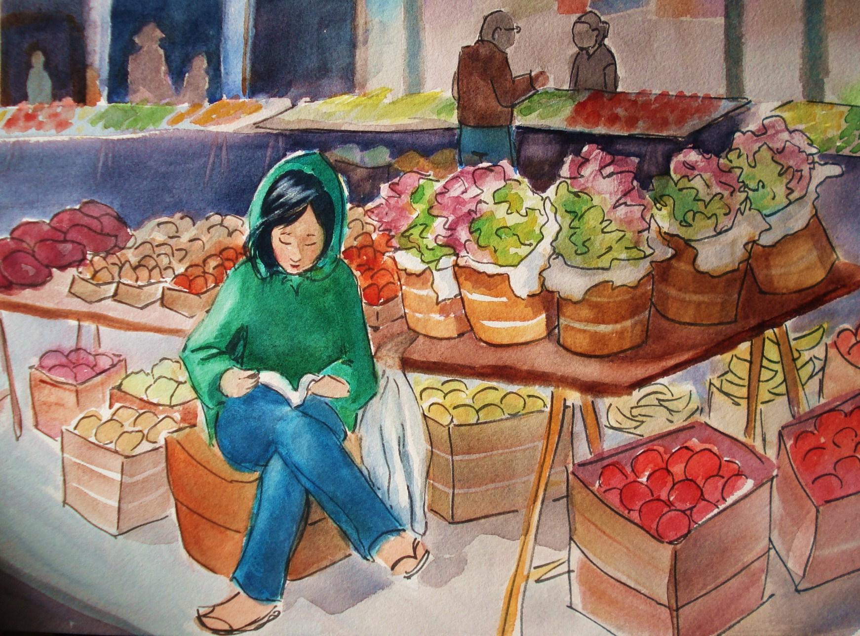 Любимому, открытки продавцу овощей
