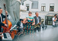 Джаз в МАРСе: Marina Volkova Jazz Band