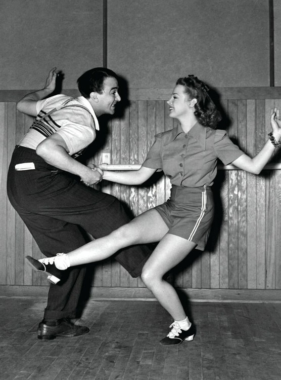 history of social dance in the 50s