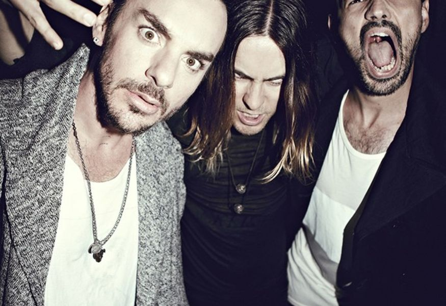Фото №6 — Концерт 30 Seconds To Mars