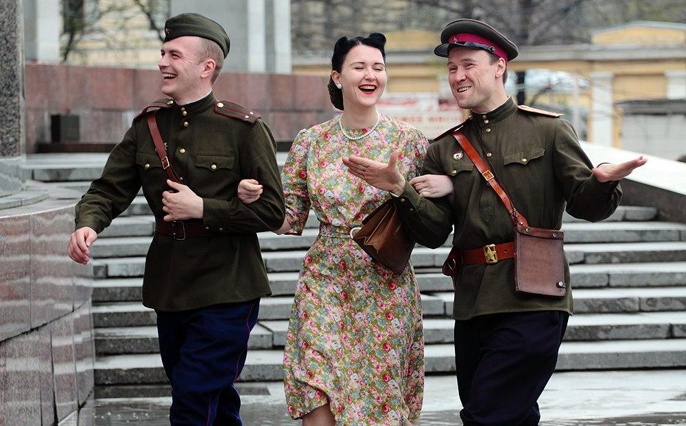 Мода военных и послевоенных лет