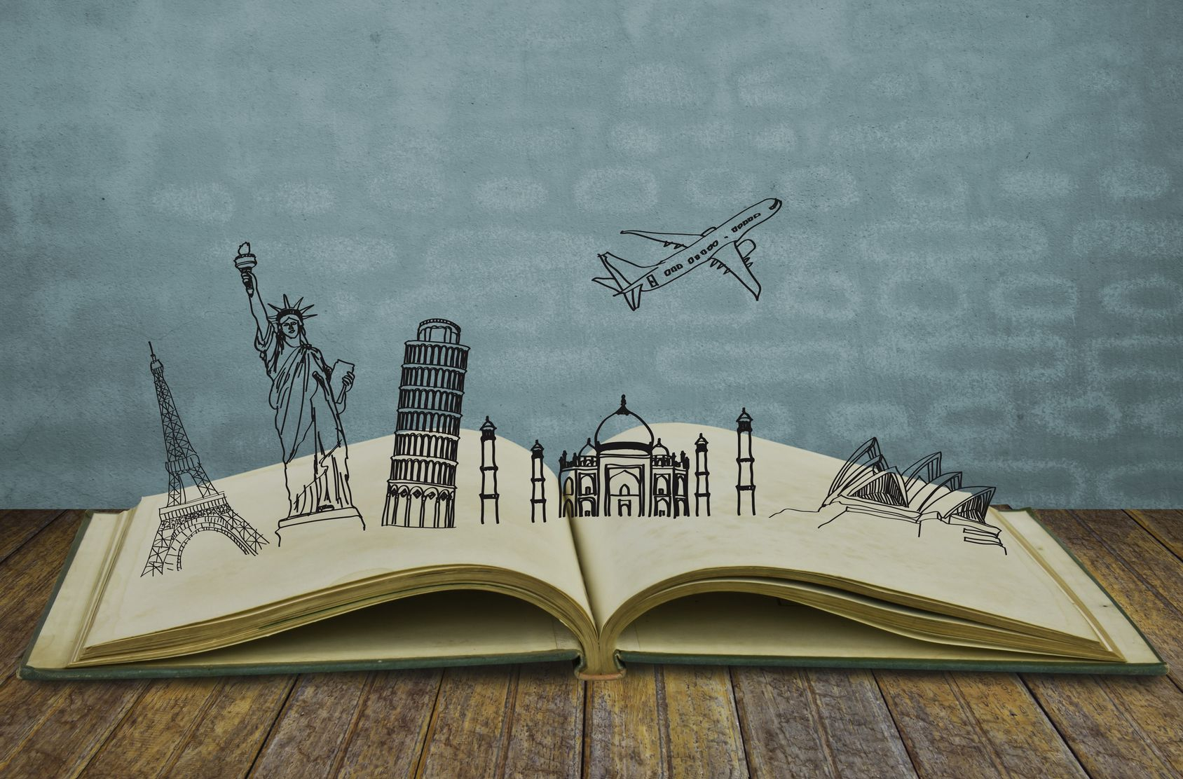 Книга о путешествиях с картинками