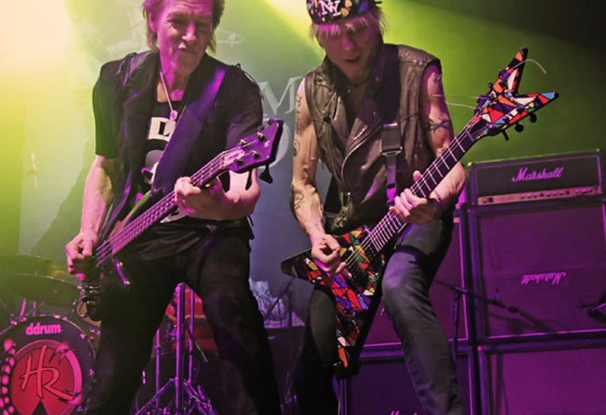Фото №3 — Michael Schenker And Scorpion's Lovedrive Reunion