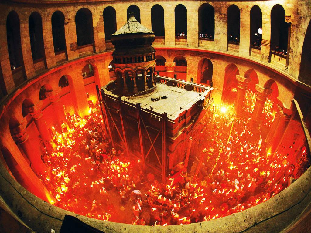 иерусалим фото колонны святого огня этой утилите