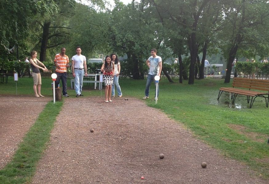 Фото №4 — Let's play Pétanque! Gorky Park, 16th of July!