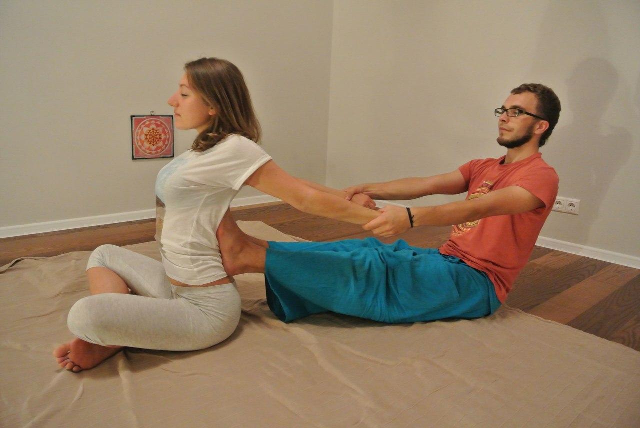 Мастер-класс по тайскому массажу с Марией Гринюк 2015 Москва - 2do2go
