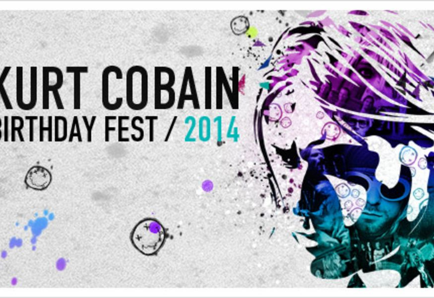 Фото №1 — Kurt Cobain Birthday Fest 2014