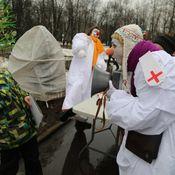 День защитника Отечества в Перовском парке