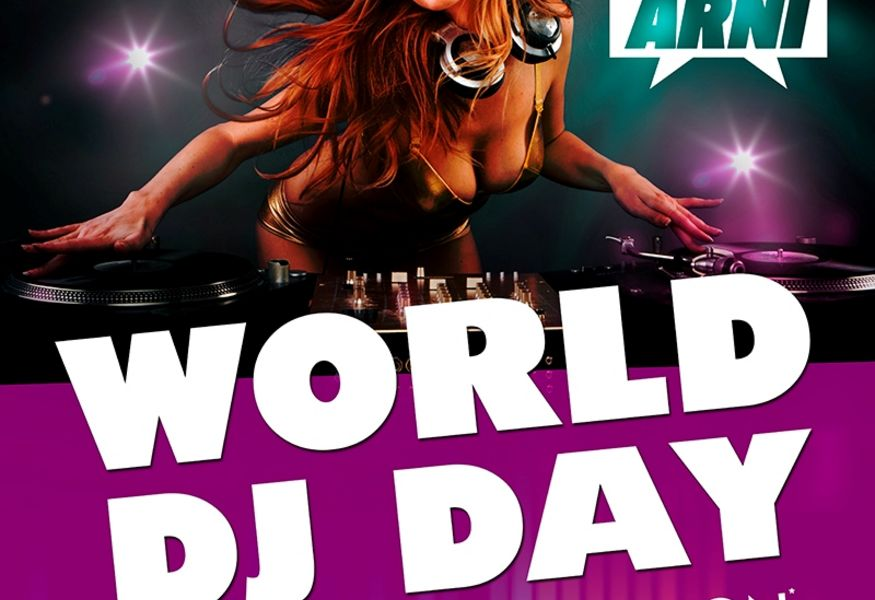 Фото №1 — Вечеринка World DJ Day в клубе «Часы»