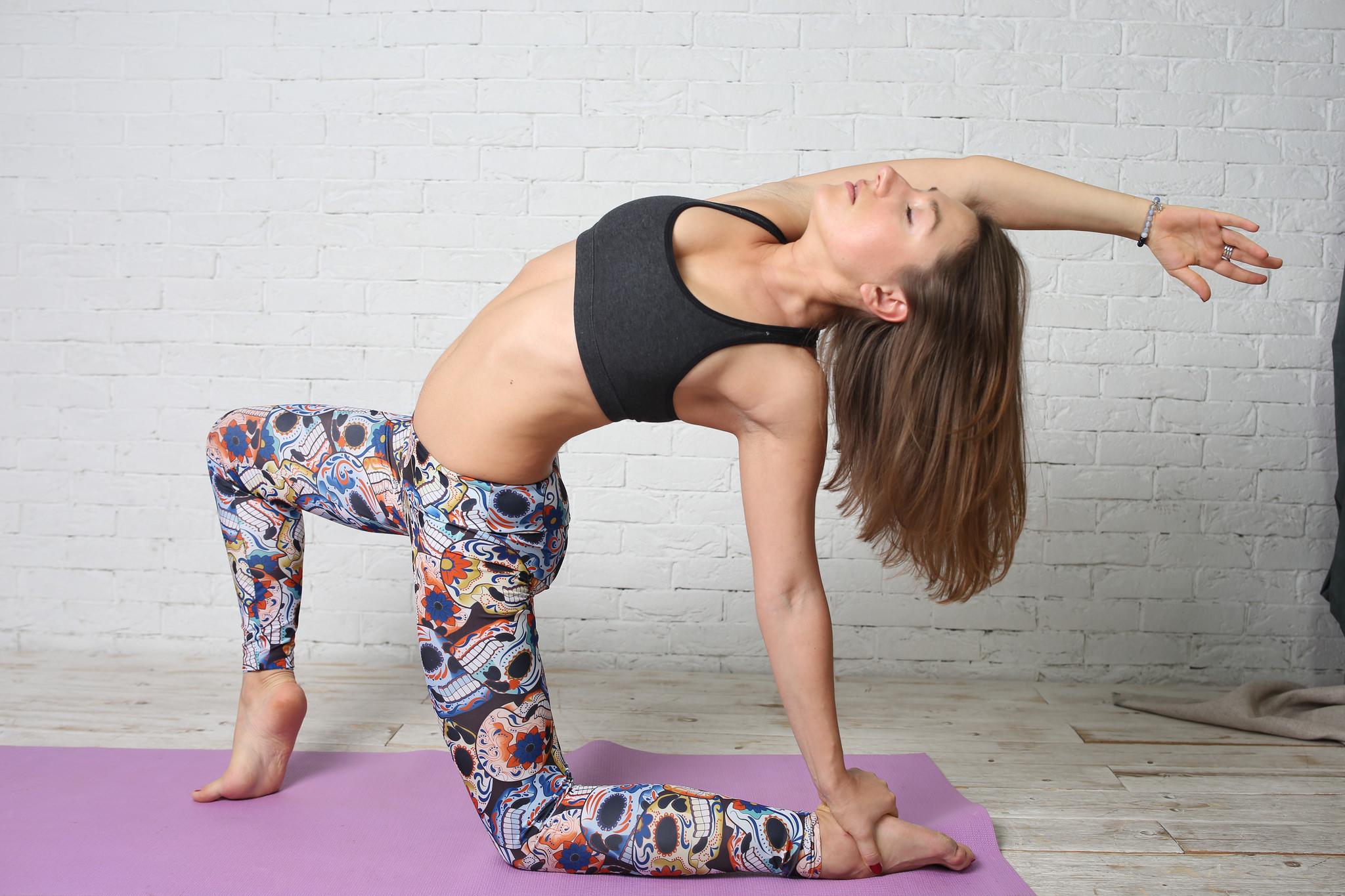 Йога для сердца в картинках