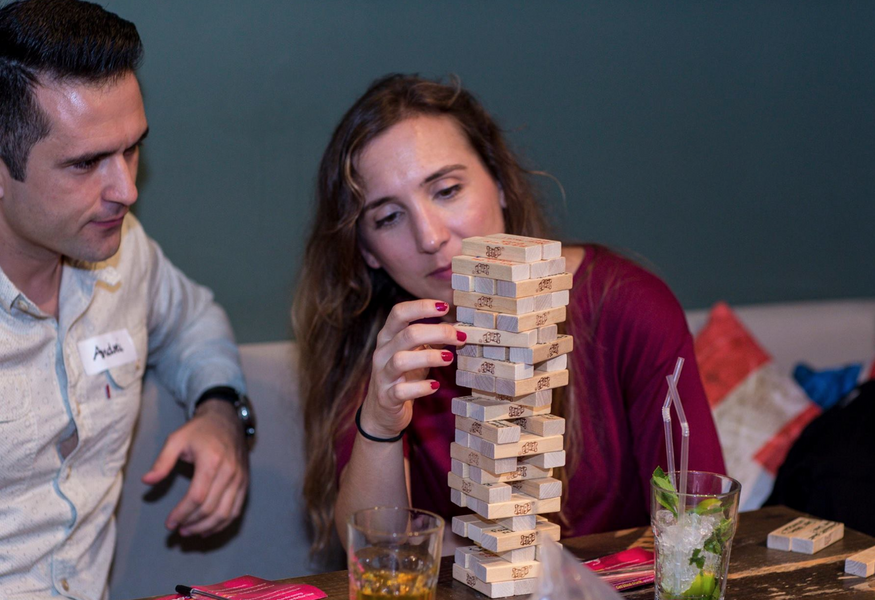 Фото №3 — Jenga speed dating