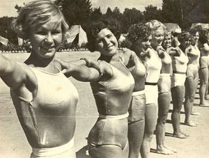 Парад физкультурниц