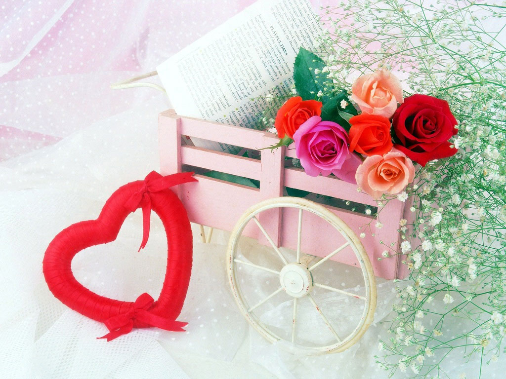 Открытки к дню рождения романтические, картинки