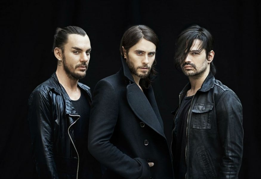 Фото №2 — Концерт 30 Seconds To Mars