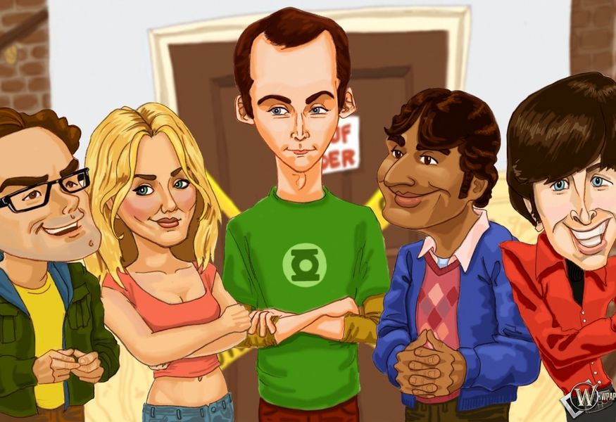 Фото №2 — The Big bang theory night