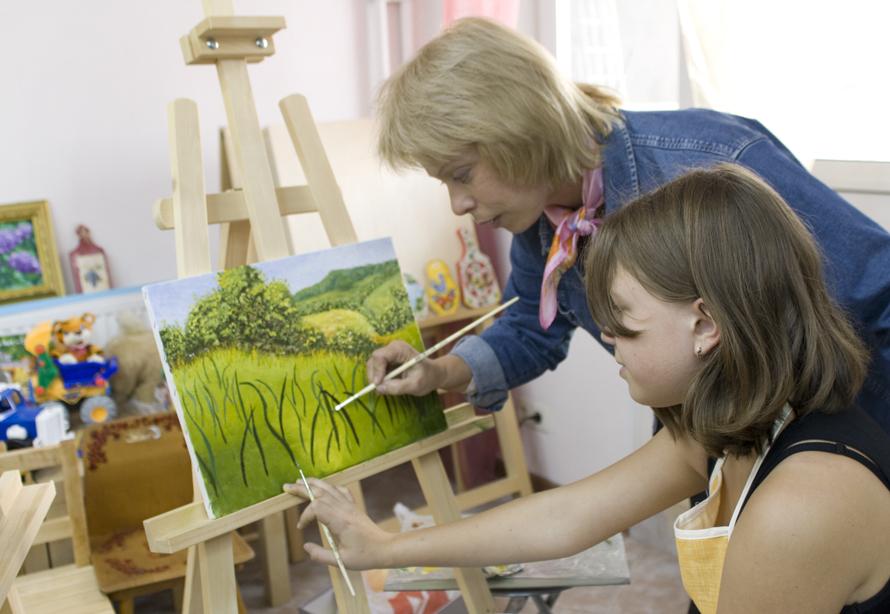 для организаций научить ребенка основам композиции клубных