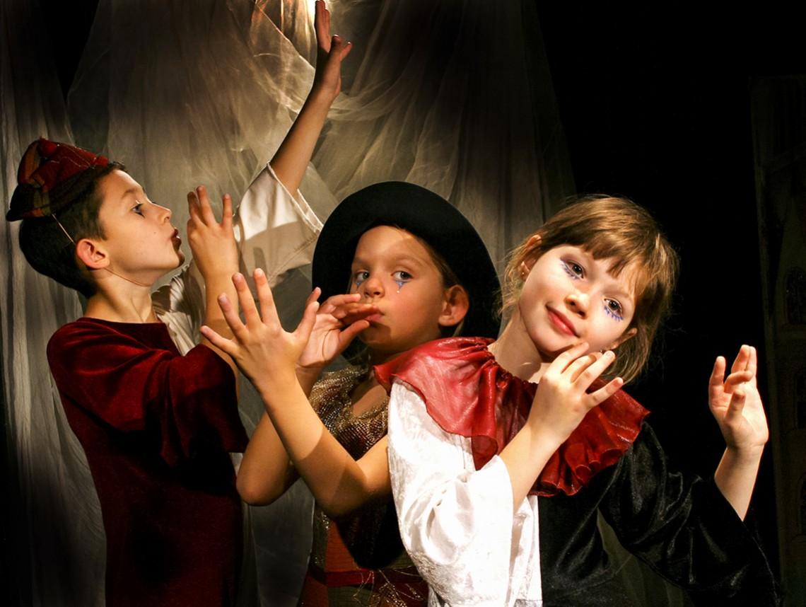Дети и театр картинки