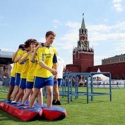 Спортивные мероприятия в День Москвы