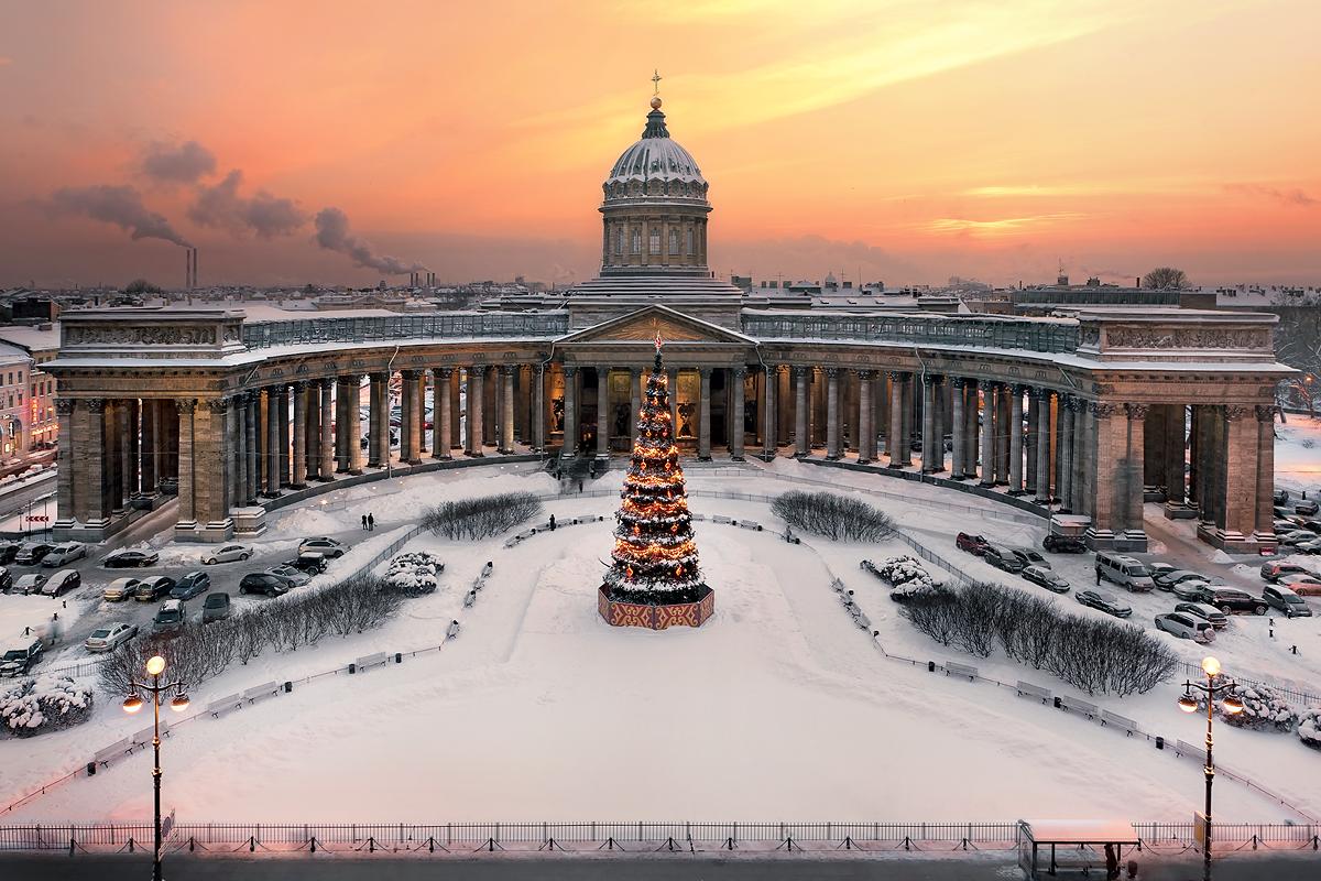 казанский кафедральный собор в санкт петербурге фото