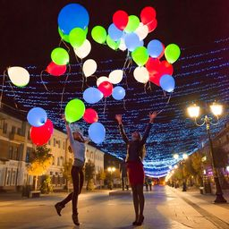 «Праздник больших светящихся шаров»