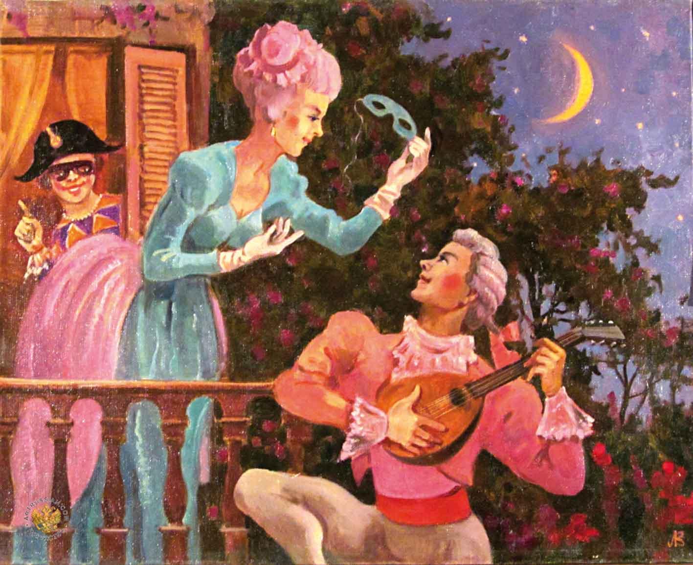 Картинки маленькая ночная серенада моцарта