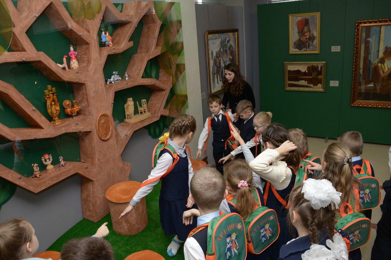 Детские экспозиции