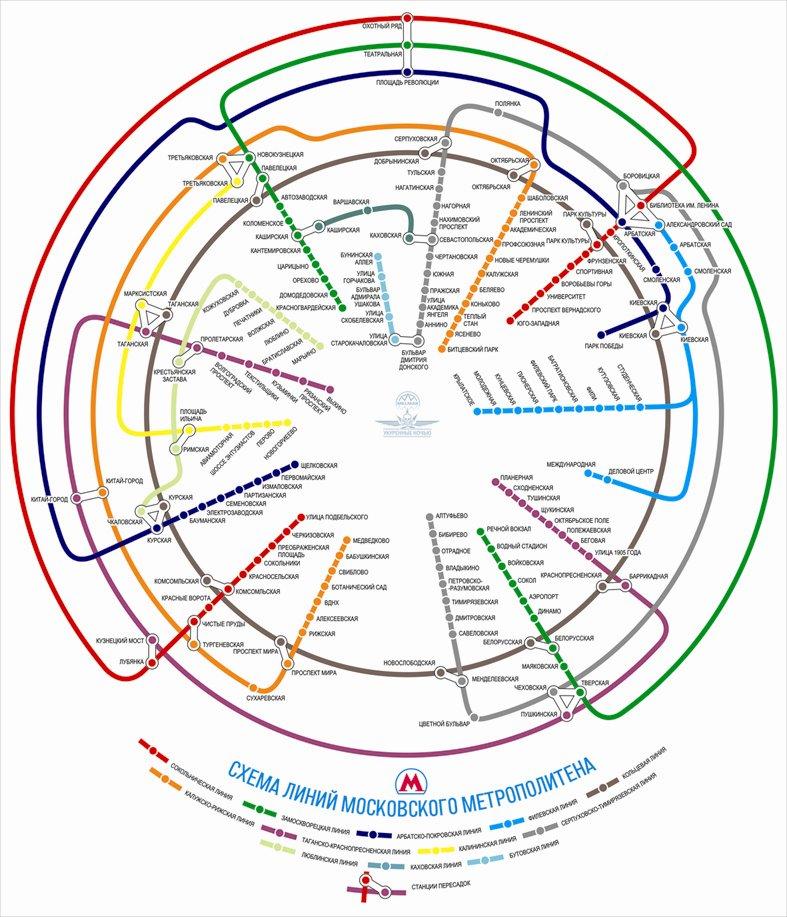 Схема метро москвы автозаводская фото 582