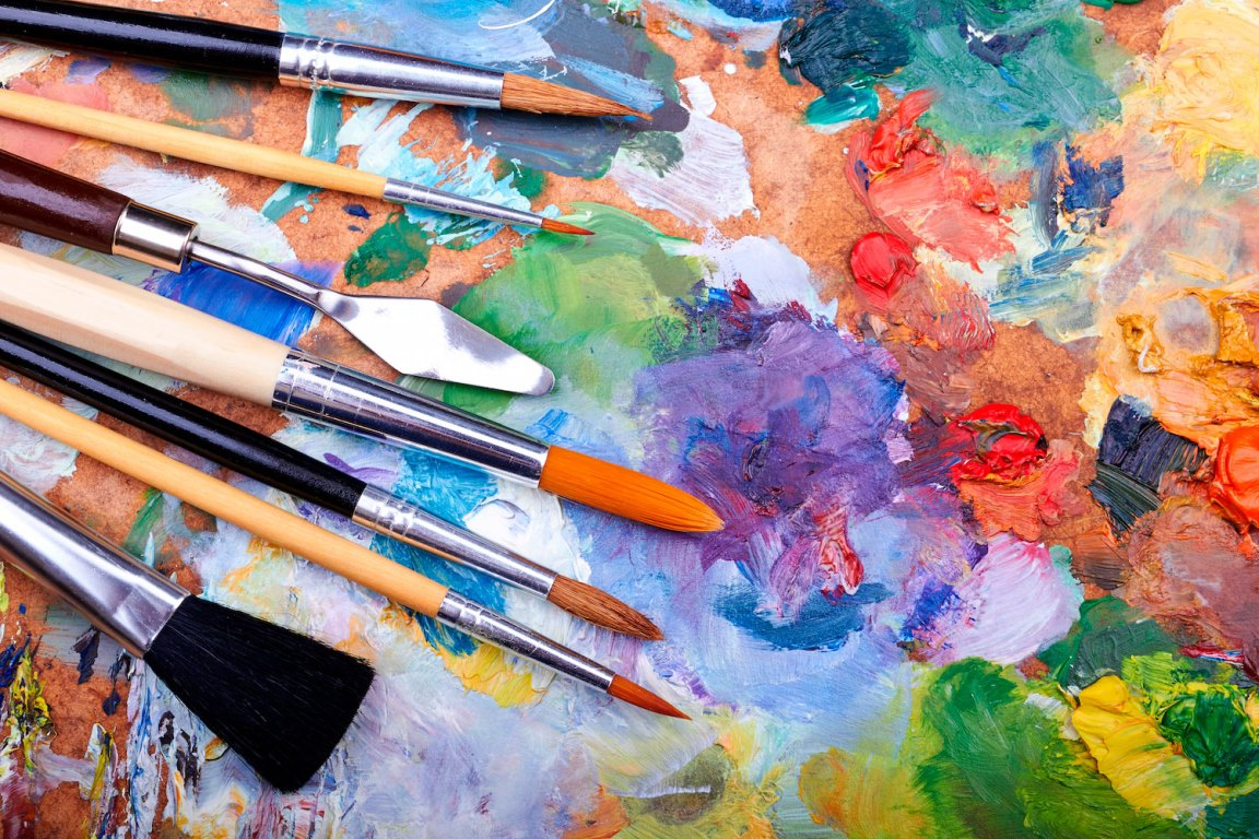 Картинки художественные материалы