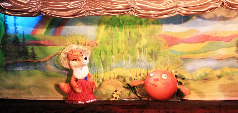 кукольный театр картинки к сказке колобок начинки скатать
