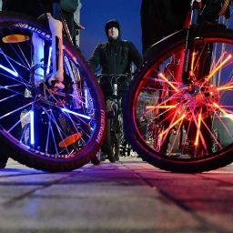Флешмоб «Велосветлячки» пройдет в Москве