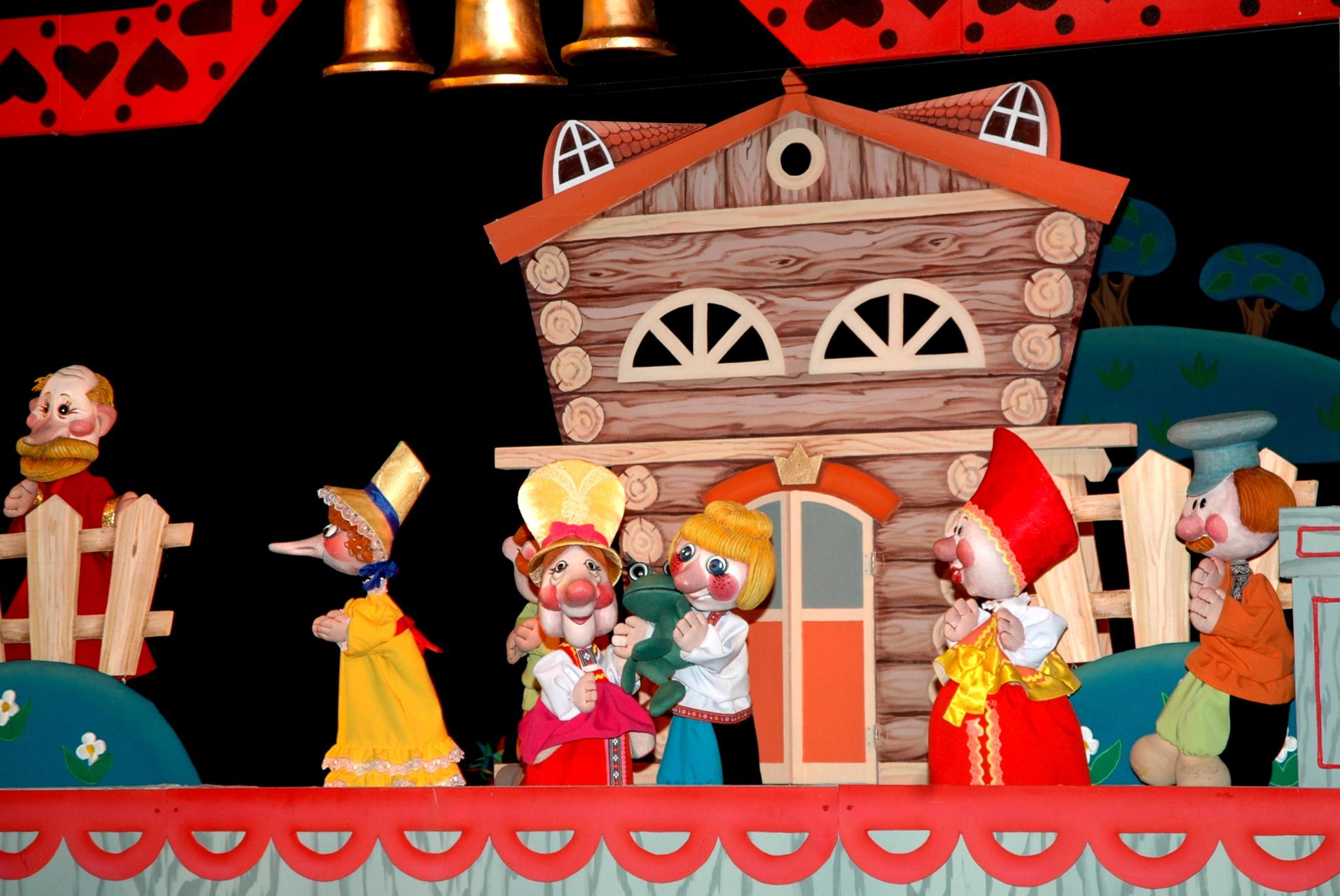 Открытка кукольный театр, картинки поросят хорошем