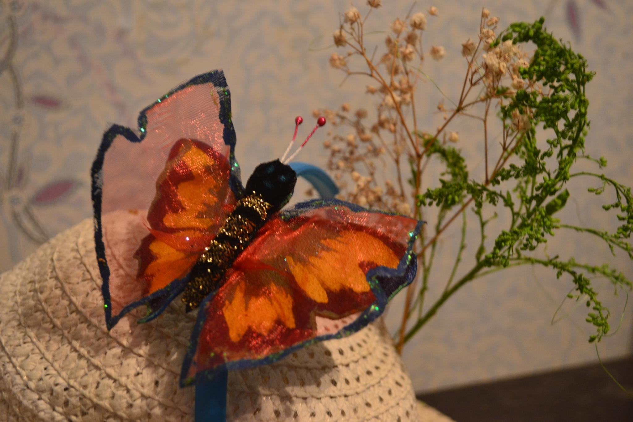 Бабочки своими руками мастер класс