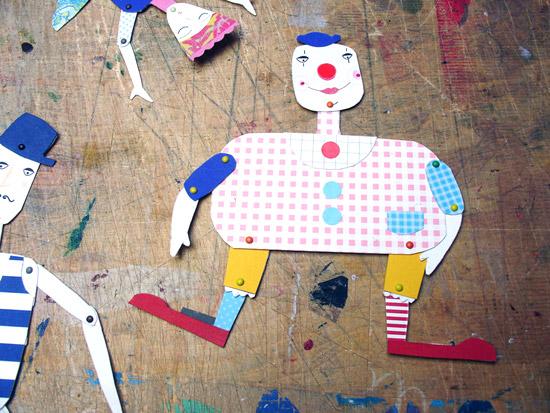 Как сделать куклу марионетку из картона своими руками