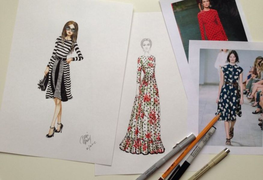 Фото №2 — Fashion-sketch