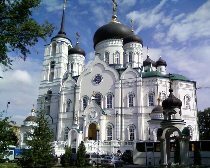 воронеж благовещенский собор фото