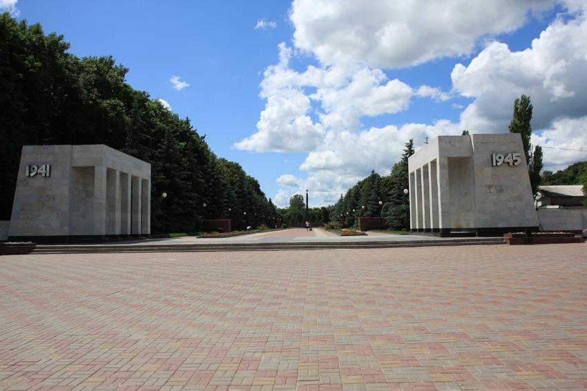 В этом году в Курской области благоустроят 164 двора и 74 общественные территории