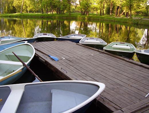 парк с прокатом лодок в спб