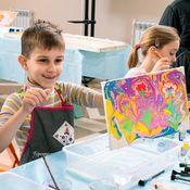 8 марта с детьми в арт-студии Integra Art