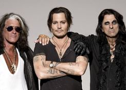 Концерт группы Hollywood Vampires