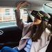 На улицах Москвы появились такси со шлемами виртуальной реальности