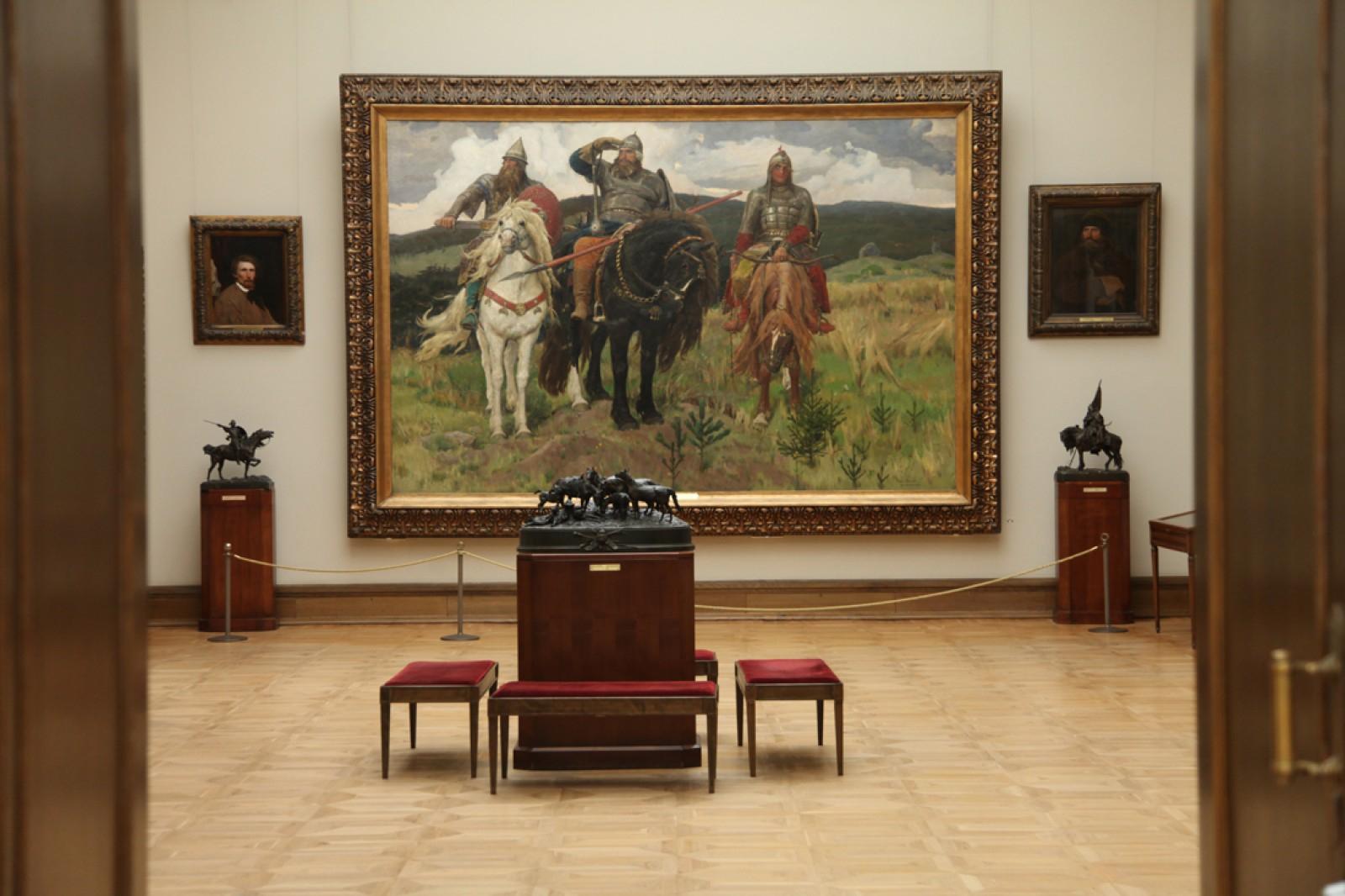 Музей третьяковская галерея с фото