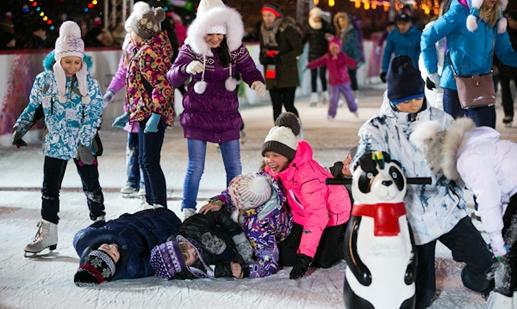 Фоновые картинки к расписанию детского сада зимой