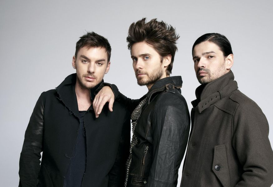 Фото №7 — Концерт группы «30 Seconds to Mars»