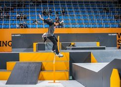 Moscow World Cup Skateboarding