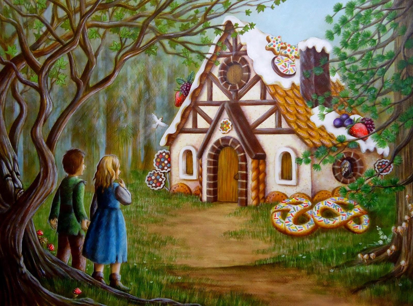 Картинка домик в сказках
