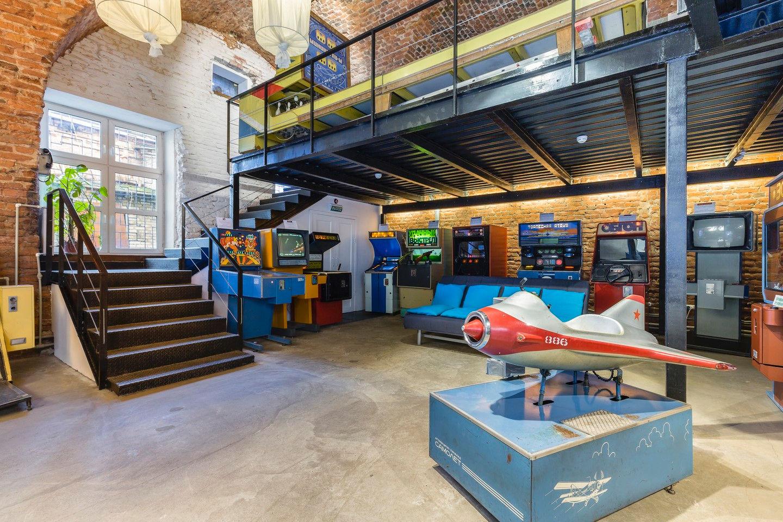 Музей игровых автоматов спб