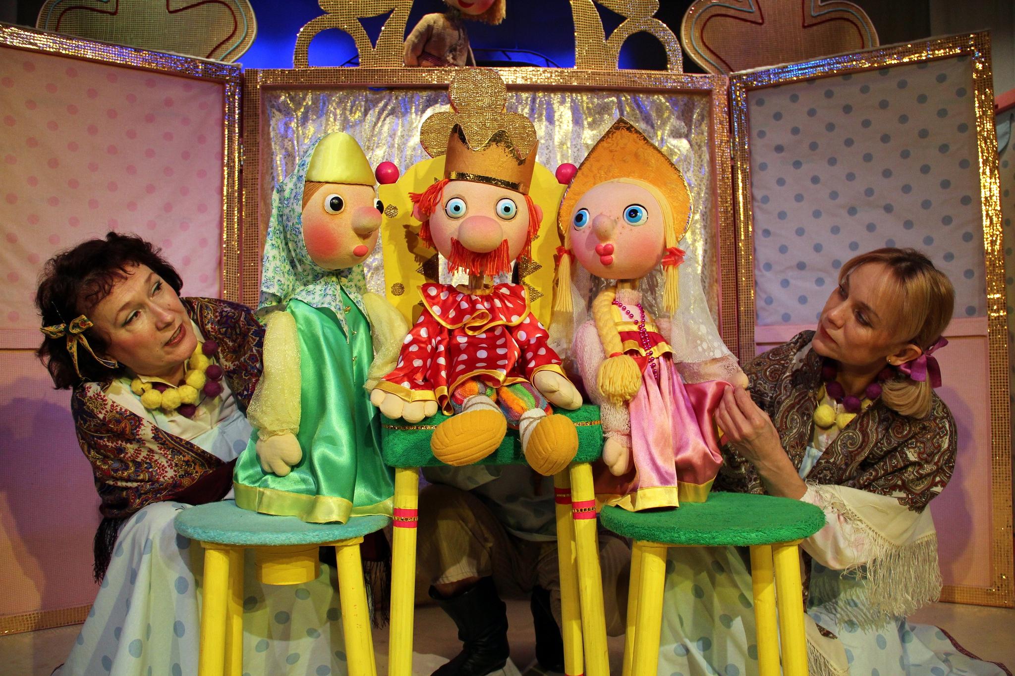 кукольный театр фото картинки стала