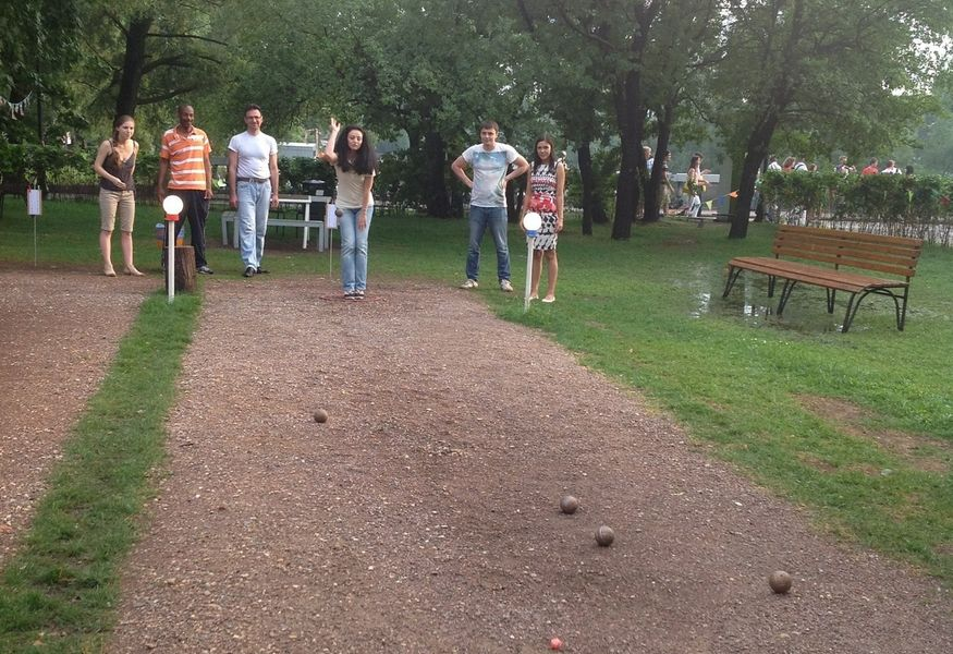 Фото №2 — Let's play Pétanque! Gorky Park, 16th of July!