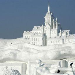 Снежные городки в Москве