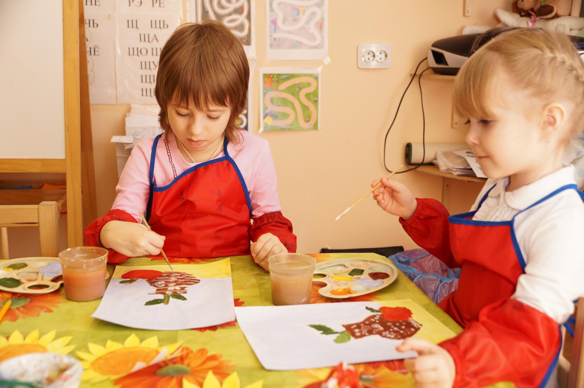Творчество детей дошкольного возраста картинки